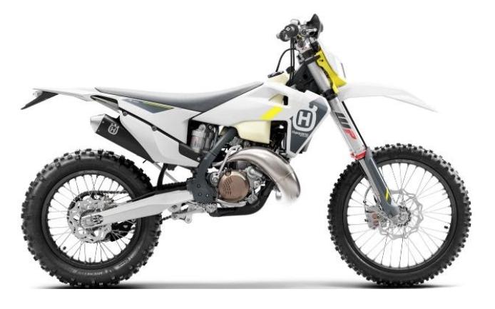 Recalled 2022 Husqvarna TE 150i motorcycle