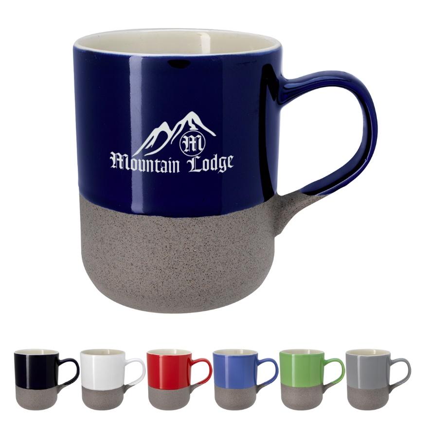 Recalled Coastline Ceramic Mug