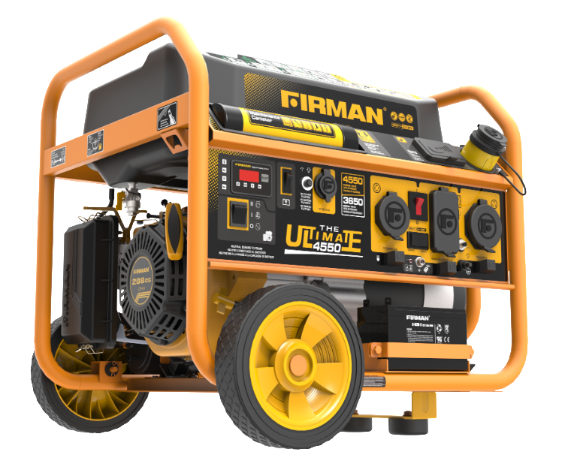 FIRMAN portable generator front right view