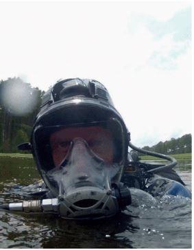 Neptune Space Full Face Mask 50/60 PSI (33366; 33367)