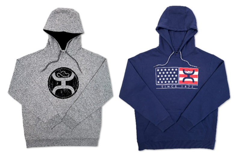 Examples of recalled youth sweatshirts with drawstrings