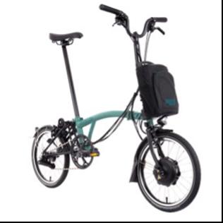 Recalled Brompton Electric Folding Bicycle