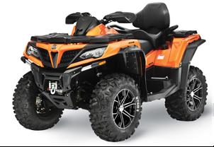Recalled CFMOTO 2021 CFORCE 800XC All-Terrain Vehicles (ATVs)