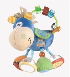 Recalled Playgro Clip Clop infant activity rattle
