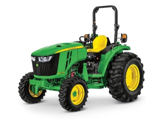 Recalled John Deere 4M & 4R compact utility tractor – open station