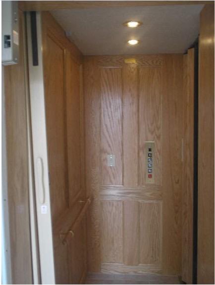 Recalled Waupaca residential elevator, Custom Lift model