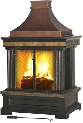 Recalled outdoor fireplace