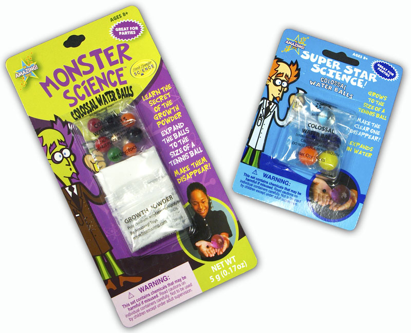 Monster Science and Super Star Science! Colossal Water Balls