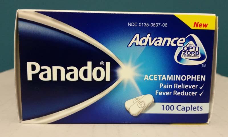 Panadol Advance pain relievers