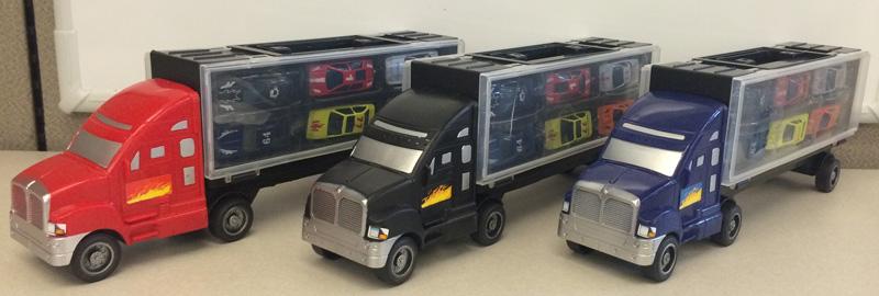 Tough Treadz Auto Carrier Toy Sets