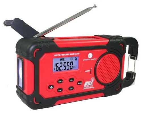 Recalled Ambient Weather radio