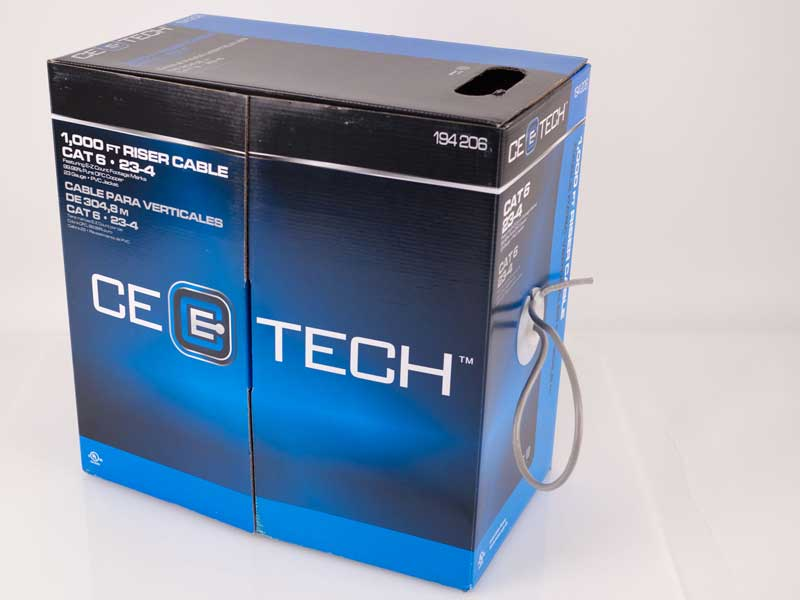 Recalled CE Tech 1,000 Ft. riser cable