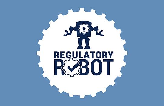 Small Business Regulatory Robot Logo