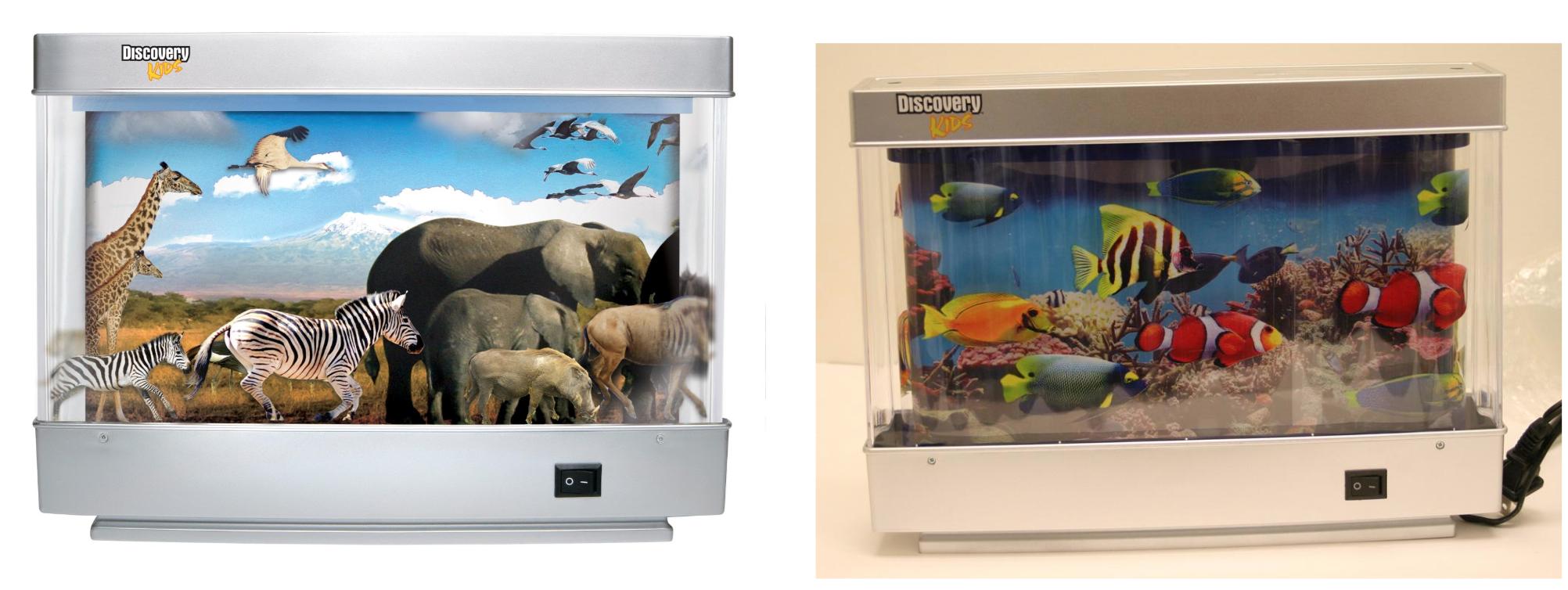 Innovage Discovery Kids™ Animated Marine and Safari Lamps