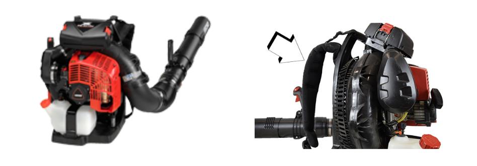 Recalled ECHO PB-8010 Blower and Shoulder Straps
