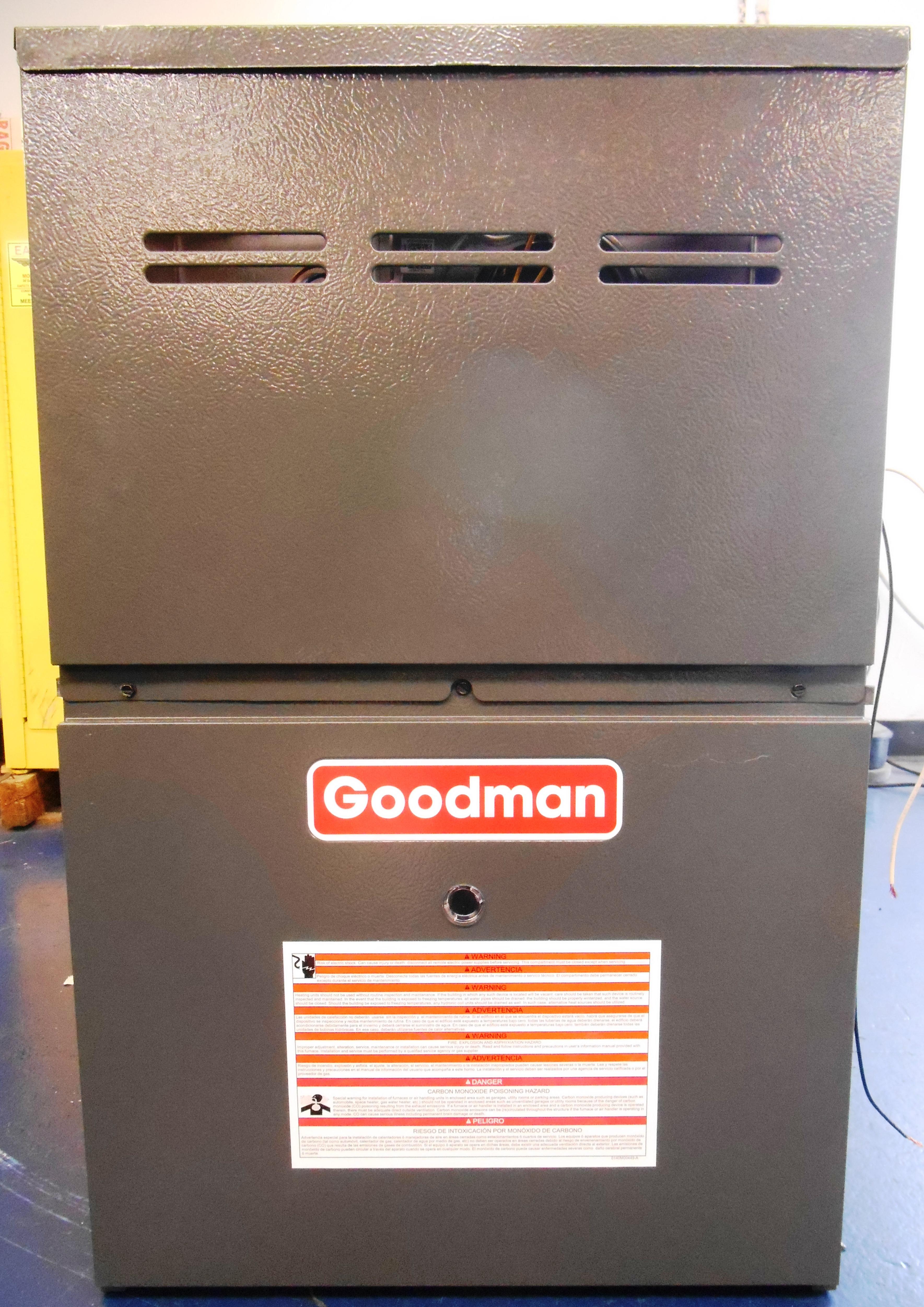 Recalled Goodman furnace