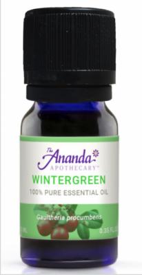 Recalled Wintergreen Essential Oil (0.5 mL, 10 mL, 30 mL, 60 mL, 120 mL)