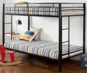 Recalled Zinus metal bunk bed (model OPLBB)