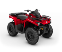 Recalled MY21 Can-Am Outlander 450 Red