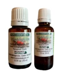 Recalled Bio Source Naturals Wintergreen Essential Oils - 15 mL and 30 mL