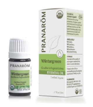 Recalled Pranarom Wintergreen Essential Oil