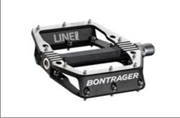 Bontrager Line Pro flat bicycle pedal (black)