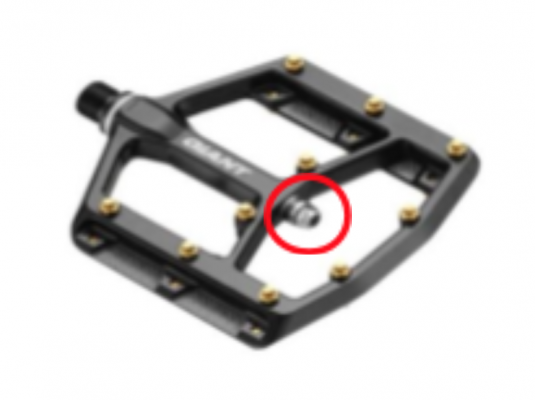 Giant DH pedal not subject to recall