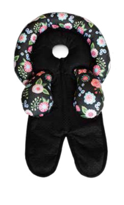 Boppy Infant Head and Neck Support Accesory (Ebony Floral)