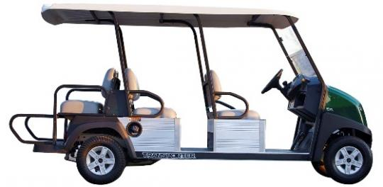 Recalled Club Car Gas Transporter