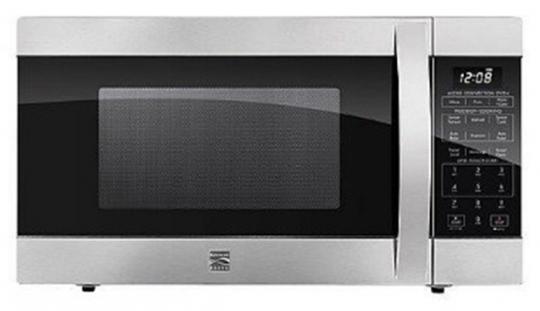 Recalled Kenmore Elite microwave oven