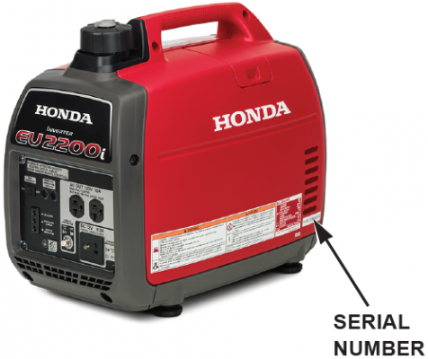 Location of Serial Number: (all models)