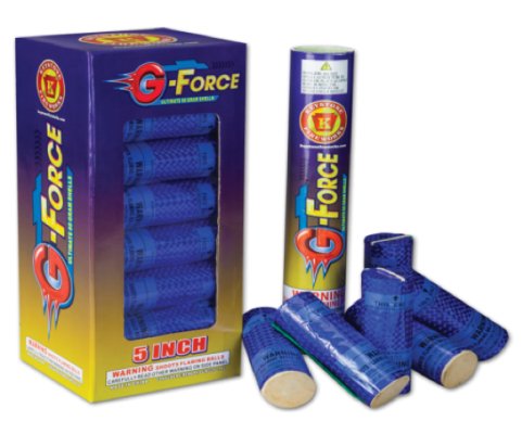 Recalled G-Force Fireworks