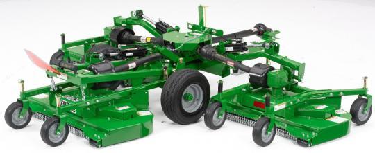 Recalled John Deere's Frontier Flex-Wing Grooming mower