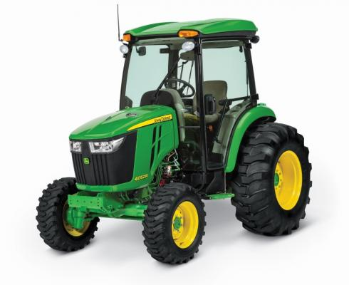 Recalled John Deere 4R Series compact utility tractor
