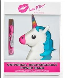 Unicorn Head power bank