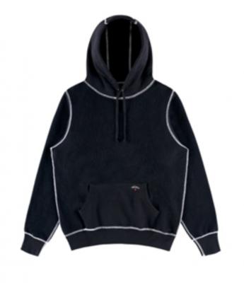 Recalled Noah Reverse Fleece Hoodies in Black