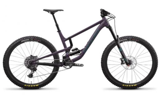 Recalled Santa Cruz Bicycle:  Nomad 4a Aluminum – Eggplant
