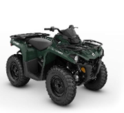 Recalled MY21 Can-Am Outlander 570 Tundra Green