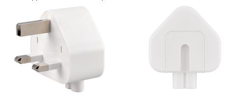 Recalled Three-Prong AC Wall Plug Adapter