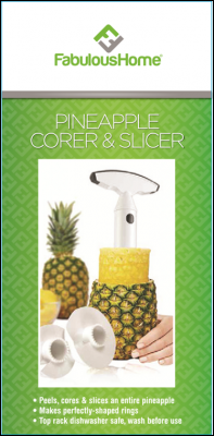 Fabulous Home Pineapple Corer & Slicer packaging