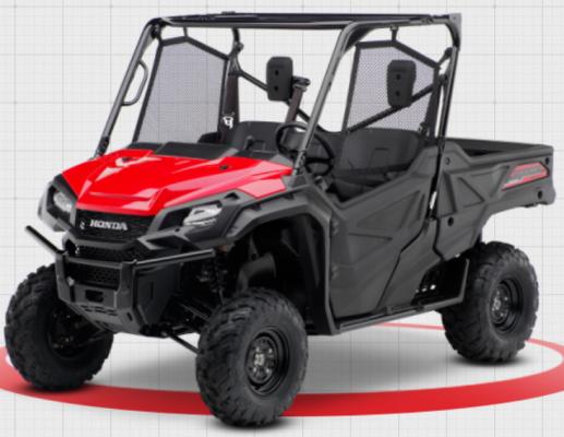 2016-2019 Model Year Honda Pioneer 1000 3P