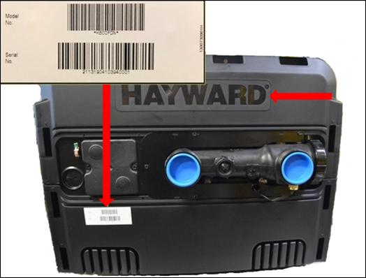H500FD Model Number Location