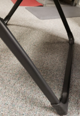 Square Legs on Antigravity Chair