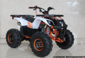 Recalled Venom Grizzly 125cc HX125B ATV