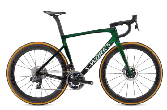 Recalled Specialized Tarmac SL7 in Green