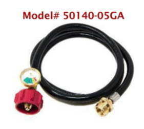 Recalled Gas One adapter hose – Model# 50140-05GA