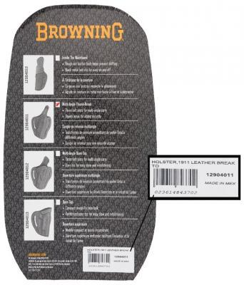 Holster Packaging (Back)