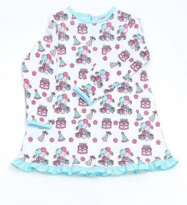 Recalled Just Blanks-branded nightgown – birthday print