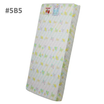 """5"""" foam crib and toddler bed quilted standard mattress in quilted bear print"""