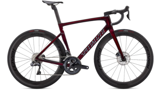 Recalled Specialized Tarmac SL7 in Red